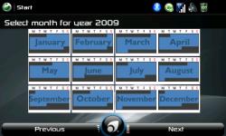 Calendar Year View (landscape)
