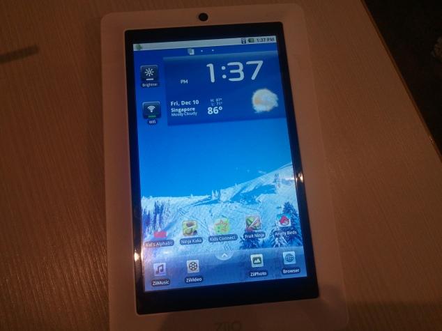 """ZiiO 7"""" Tablet"""