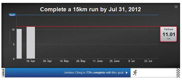 15km goal