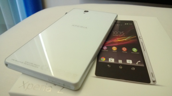 Xperia Z Glass finishing