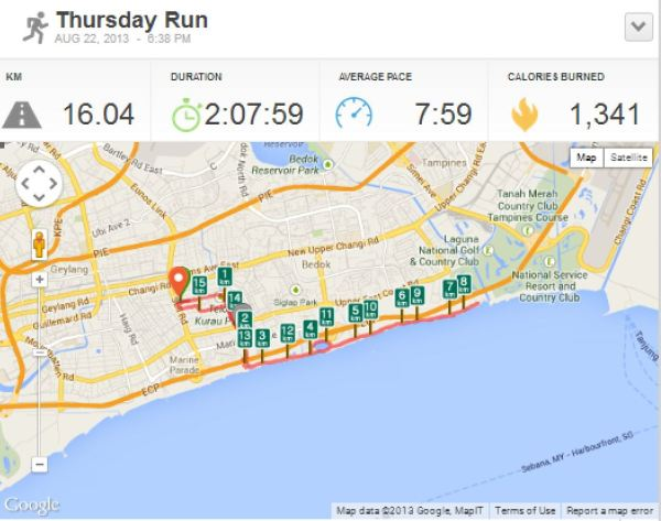 Longest Run to-date